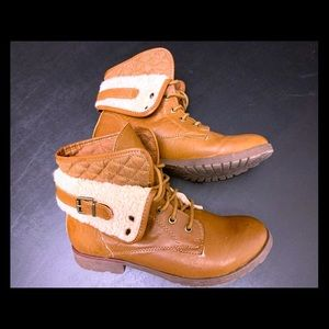 Rock and Candy Combat Boot's